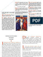 Latin Altar cards used in the Catholic Tridentine Mass