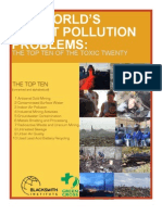 THE WORLD'S WORST POLLUTION  PROBLEMS