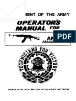 AK47 US Army Operators Manual v1