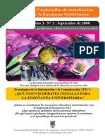 Debates en La Ens- Univer-sept08