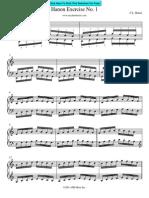 HANON - Method - [Piano] - Hanon Book (1)