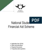 2014 NSFAS Application Form