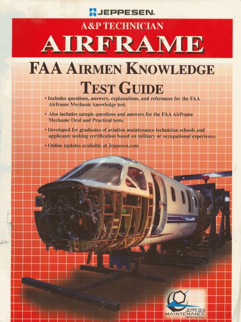 a p technician airframe faa airmen knowledge test guide flight rh es scribd com Airframe Test Guide 2014 FAA Airframe Practice Test