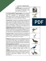Aves de La Prehistoria