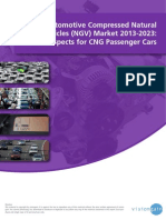The Automotive Compressed Natural Gas Vehicles (NGV) Market 2013-2023