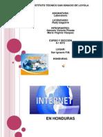 internet en honduras