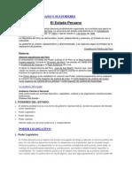 El Estado Peruano y Sus Poderes