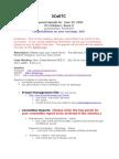 3CsETC Minutes 2009.06.29