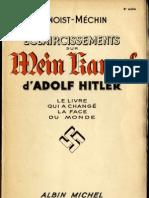 Benoist-Méchin Jacques - Eclaircissements sur Mein Kampf d'Adolf Hitler