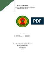 Proposal Terapi Aktivitas Kelompok Sosialisasi