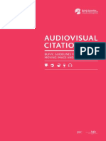 Audiovisual Citation