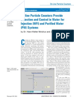 WP HIAC Detection and Control in WFI and PW Systems US
