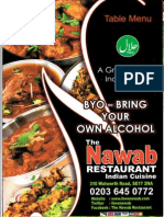 The Nawab Restaurant Menu1