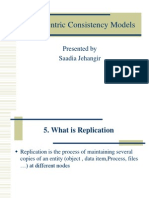 Data-Centric Consistency Models