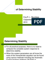 Lecture2 Methods of Determining Stability-rhc