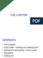 Vi Editor Session1
