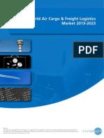 World Air Cargo & Freight Logistics Market 2013-2023