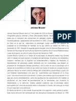 Bruner-biografía