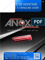 Anoxa Notice Crino Acier Janvier 2013