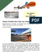 Grupo Carajás abre loja em Campina Grande