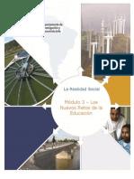 HFL UNAM Modulo_III_ Los Nuevos Retos de La Educacion