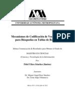 Mecanismos de Codificación de Vector de Bits