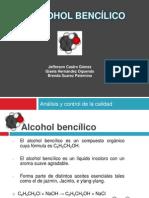 Alcohol Bencilico