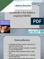 Ayudando a Respirar a Los Bebes (ABAR