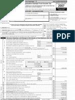 Harrisburg University's 2007 990 form