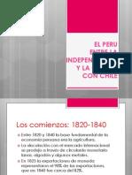 El Peru Entre La Independencia y La Guerra