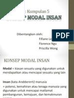 K 5 Konsep Modal Insan