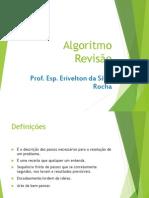 aula 01- Revisão Algoritmos
