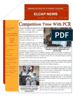 ELCAP E-Newsletter Issue 25 - Oct 2013