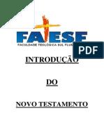 INTRODUÇÃO DO NOVO TESTAMENTO