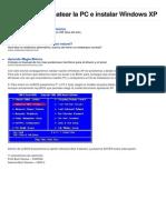 Aprende a Formatear La PC e Instalar Windows XP