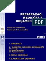 2ª aula prática - Preparação, Medições e Orçamentação