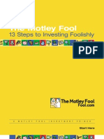 Motley Fool - 13 Steps to Investing Foolishly