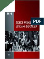 BNPB_Indeks Rawan Bencana