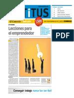 Emprendedores millennials - Estudio de ER Ronald en Aptitus de El Comercio