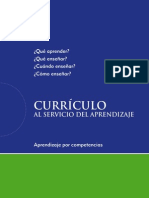Curriculo Al Servicio Del Aprendizaje 0 F