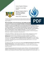 position paper for republic of moldova