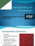 Introducción a La Hematología