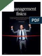 Estilo de vida saludable para ejecutivos - Ernesto Rubio en Revista G de Gestión