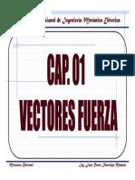 Cap. 01 - Vectores Fuerza