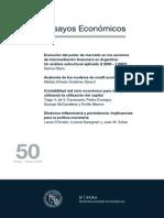 Dinamica Inflacionaria y Persistencia