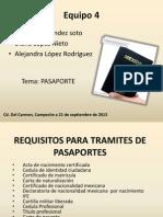 Pasaporte Equipo 4