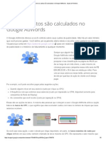 Como os custos são calculados no Google AdWords - Ajuda do Partners