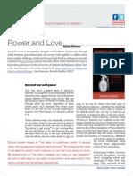 Adam Kahane (2009) Power & Love – Oxford Leadership Journal