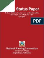 Nepal Status Paper Final Feb2012 Smallest