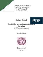 A Vénusz pentagram